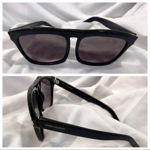 Yves Saint Laurent Black Sunglasses SL 19 807 EU